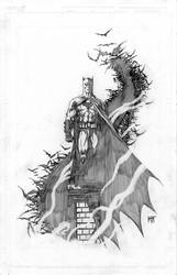 Batman ESFC exclusive pencils by KenHunt
