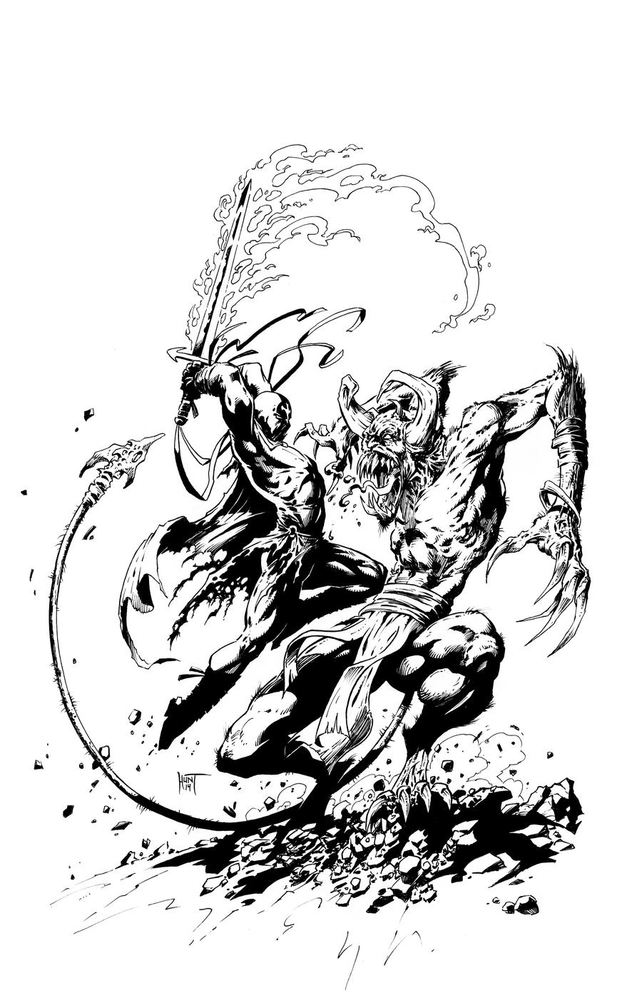 Godsend  3 inks by KenHunt