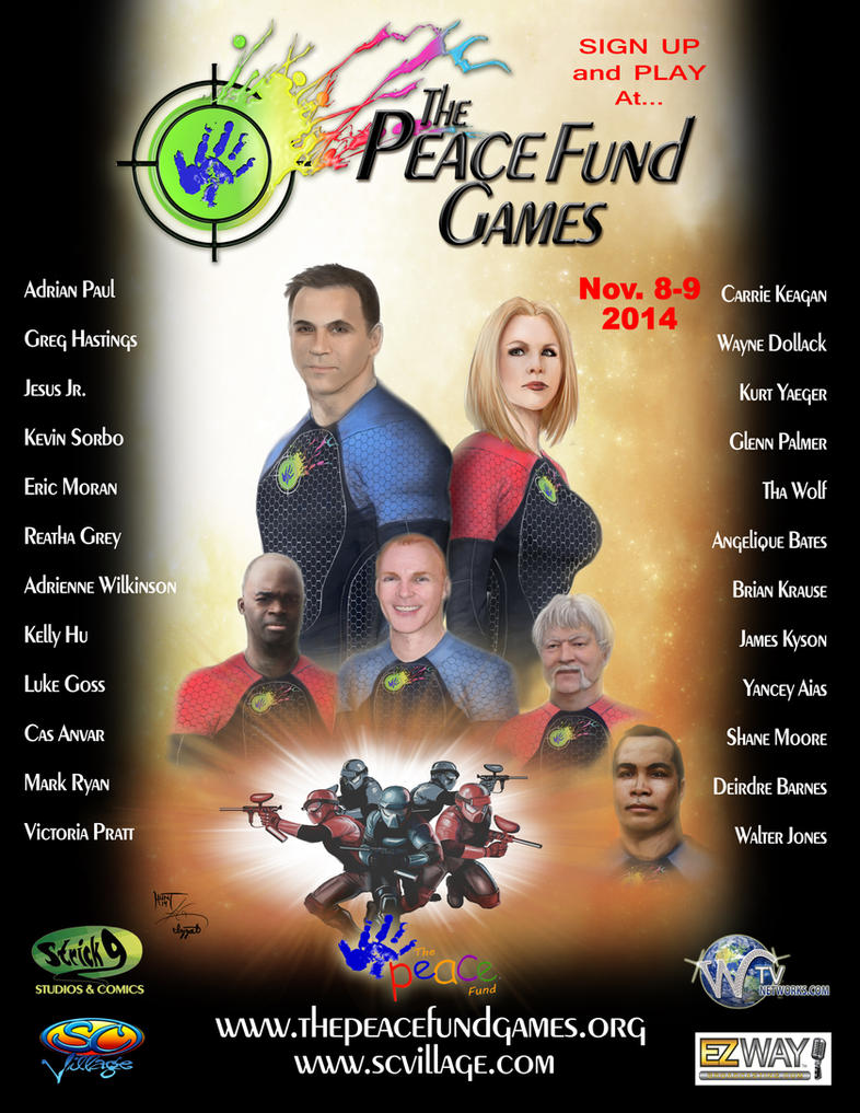 The PEACE Fund Games by KenHunt