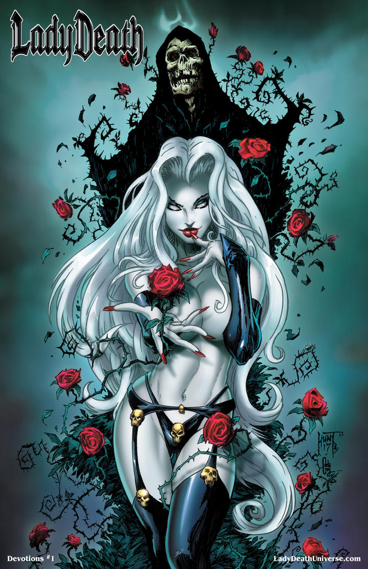 Lady Death: Devotions #1 by KenHunt
