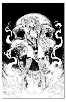 Lady Death Lingerie Special Pin-up