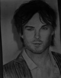Ian Somerhalder as Damon by mushuwi