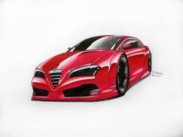 Alfa Romeo Concept by Raphaero