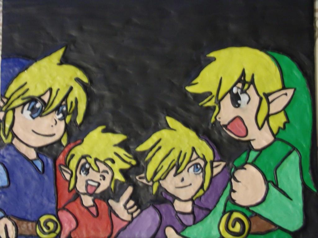 Four Swords - Clay Art by FourSwordsFanAMZ