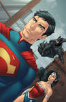 DC's Trinity - Colored