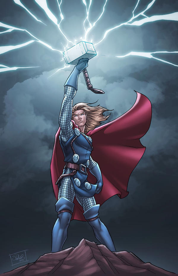 Illustrious Bits - Thor Colored by DStPierre