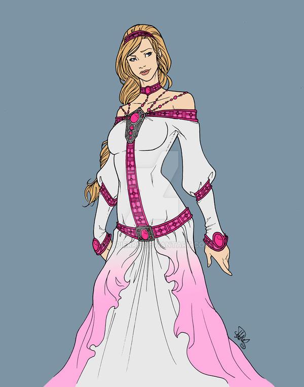 Alanis dress design by DStPierre