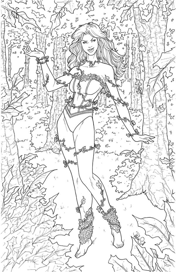 Poison Ivy NYCC 2012 Print/Banner by DStPierre