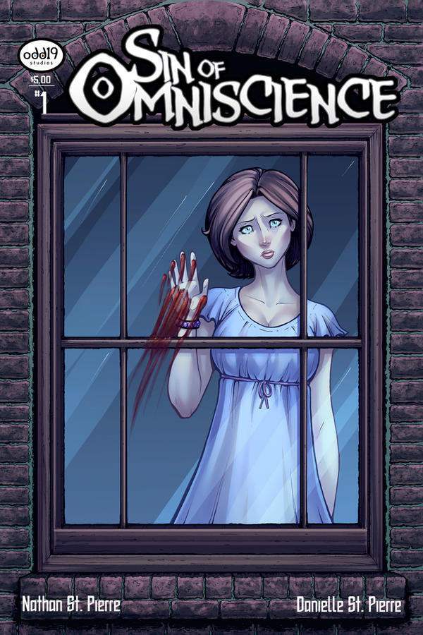 Sin of Omniscience #1 Cover by DStPierre