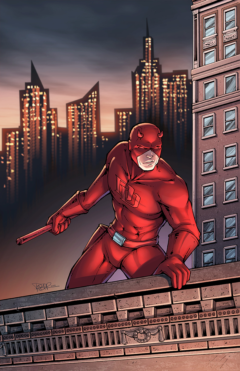Daredevil colors by DStPierre