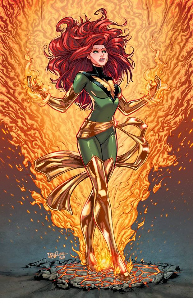 Phoenix Colored by igloinor by DStPierre