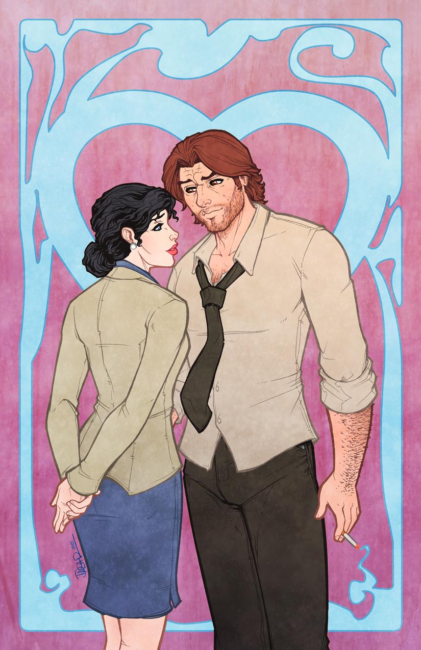 Bigby and Snow Valentine