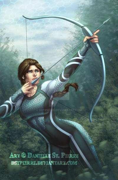 Katniss from Catching Fire
