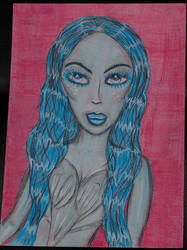 Blushed Blue by 0VampiressDoll0