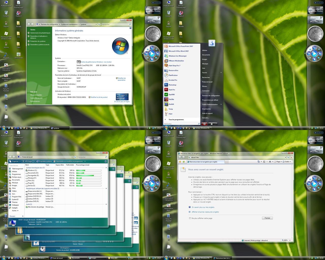 Windows vista 5259 preview by athenera on deviantart for Reduire fenetre windows