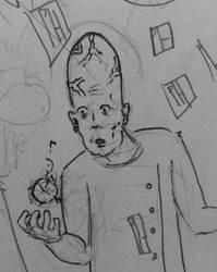 sci-fi sketch