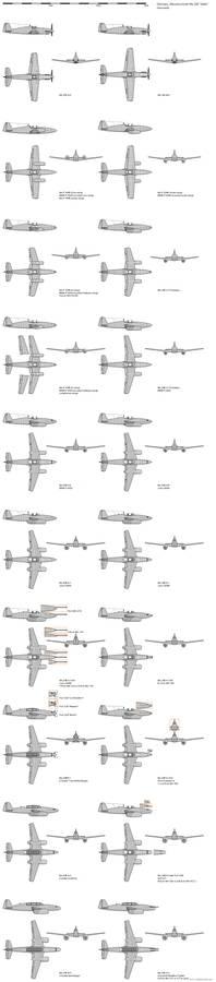 GrosserDeutschland - Me 245 Adler Variants