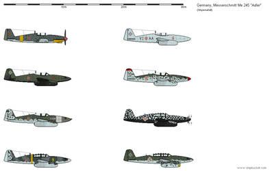 GrosserDeutschland - Me 245 Adler Schemes