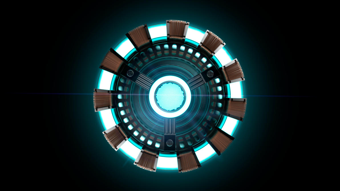 Iron Man Arc Reactor Render By JonWelch