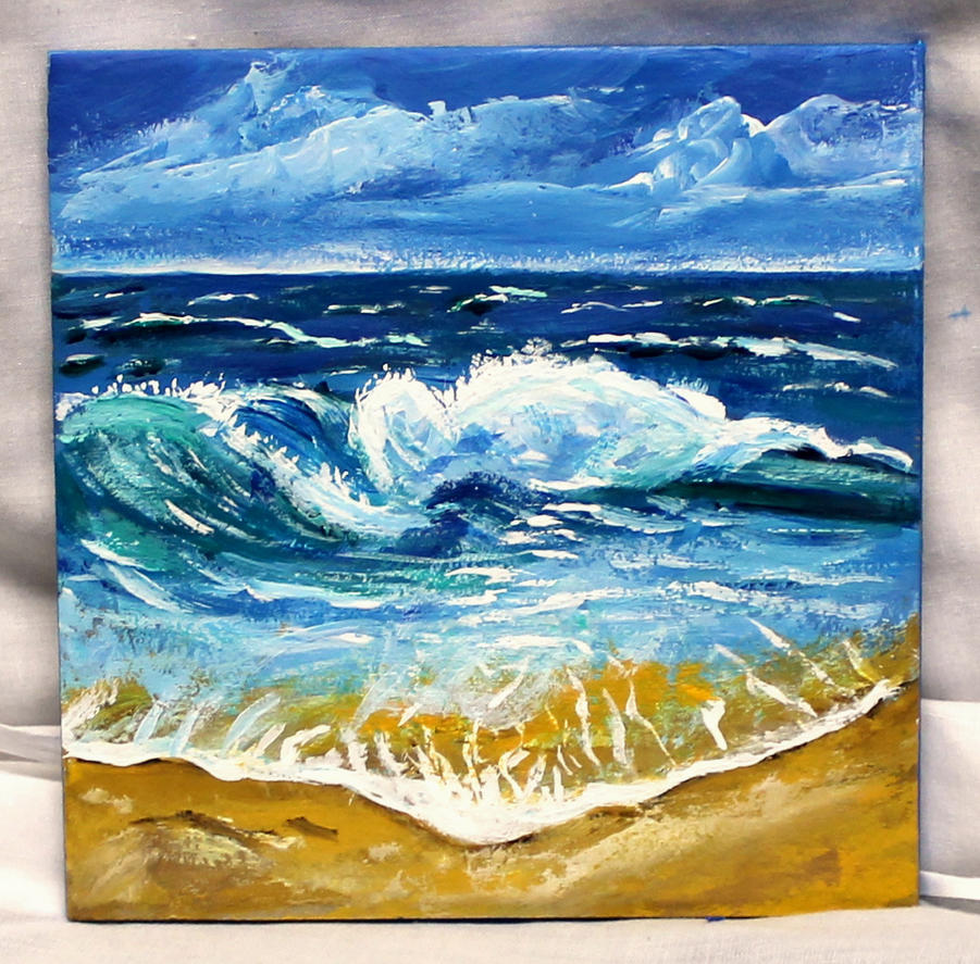 Rolling Waves by ThisArtToBeYours