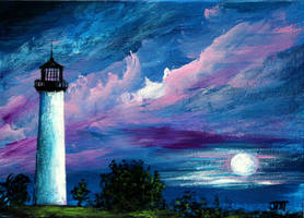 Cape Florida Lighthouse by ThisArtToBeYours