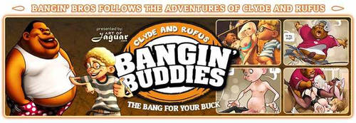 Banging Buddies  By  Art Jaguar by jaguarartfans