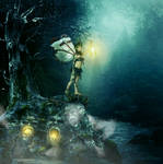 At the tree of souls she waits....