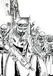 Steel legion (Black and White)
