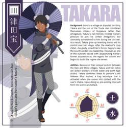 Amegakure Resistance: Takara Profile