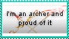 Proud Archer stamp by redella