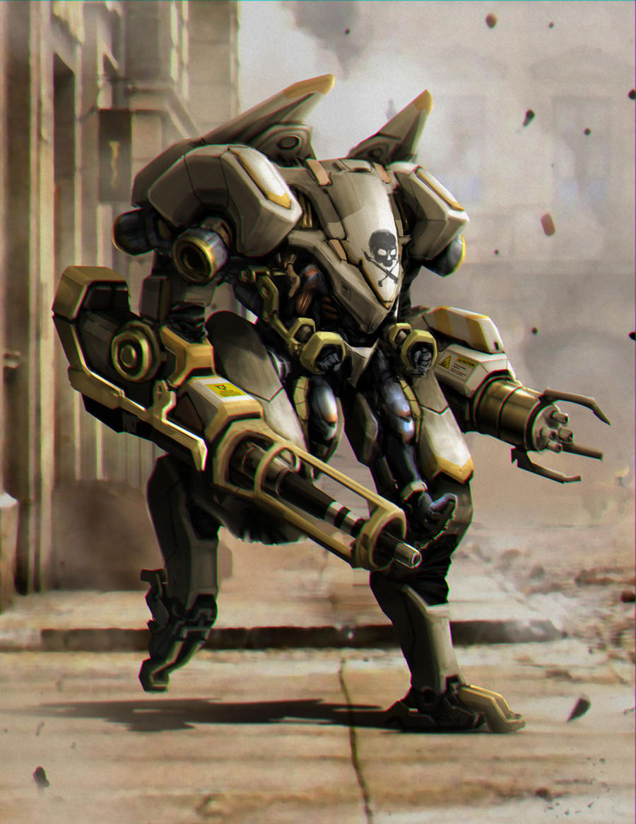 EXO-Suit V1 by AndyND