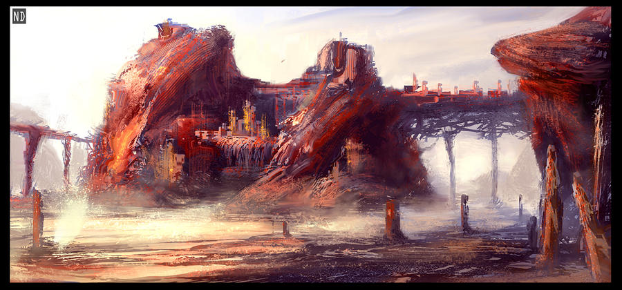 Rift - Crimson Outpost by AndyND