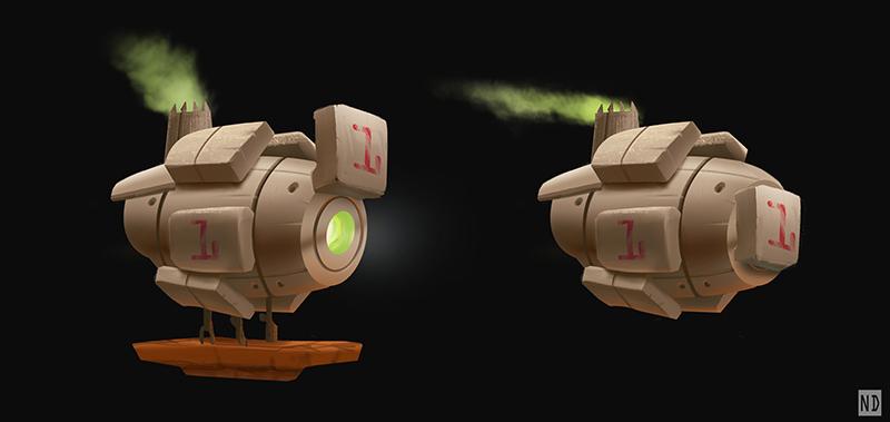 Smokey Ship by AndyND