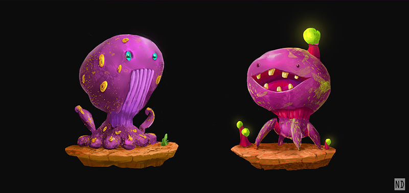 Jelly Beans Alien by AndyND
