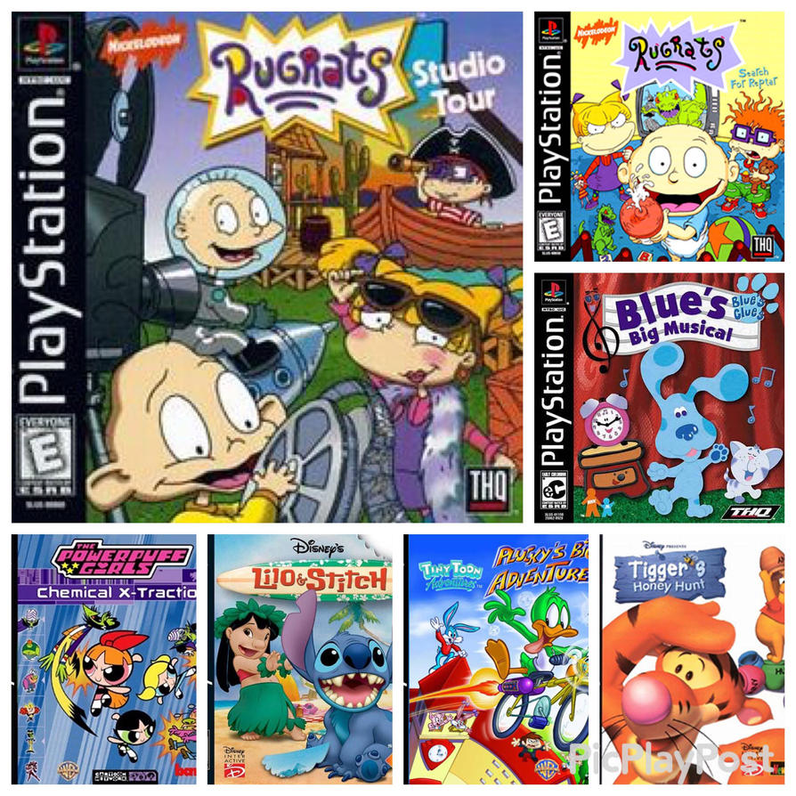 old playstation games