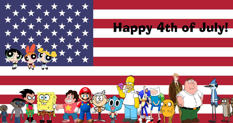 Happy 4th of July Cover by Pichu8boy2Arts on DeviantArt