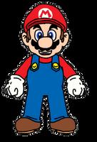 Mario by EGMinecraftCastInc