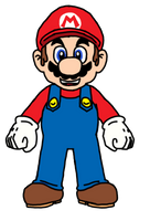 Mario by Pichu8boy2Arts