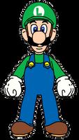Luigi by EGMinecraftCastInc
