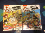My 2 Loud House DVDs