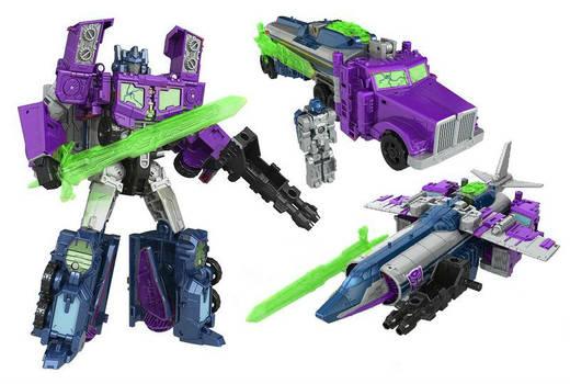 Digibash - TR Shattered Glass Optimus Prime