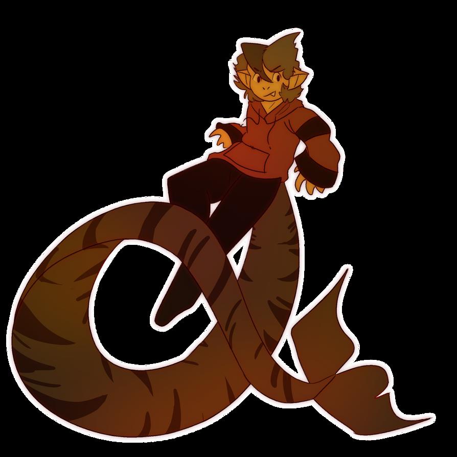 sharkboye - Chokei (for EeveeKitt) by NotWerewolf