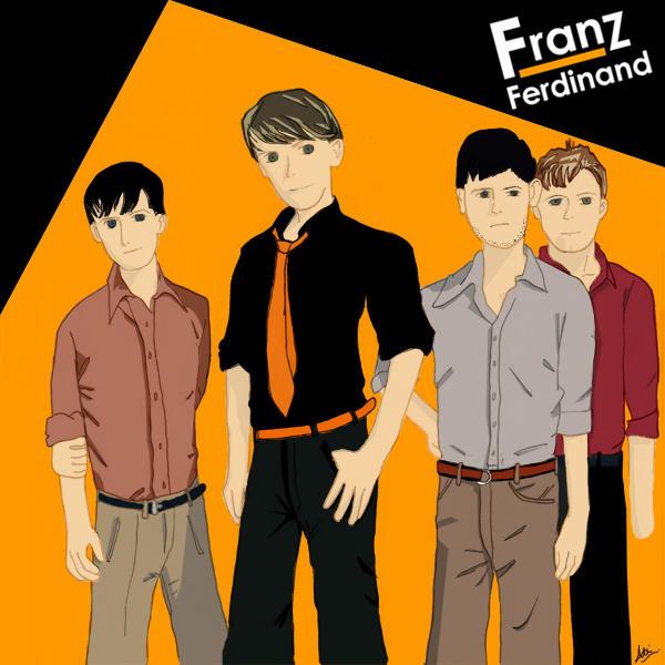 Franz Ferdinand by MizzDensity