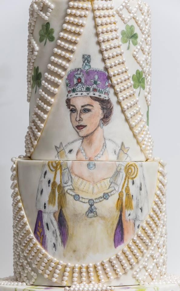 Queen Elizabeth II Coronation Outfit Cake by Gulcintek on DeviantArt