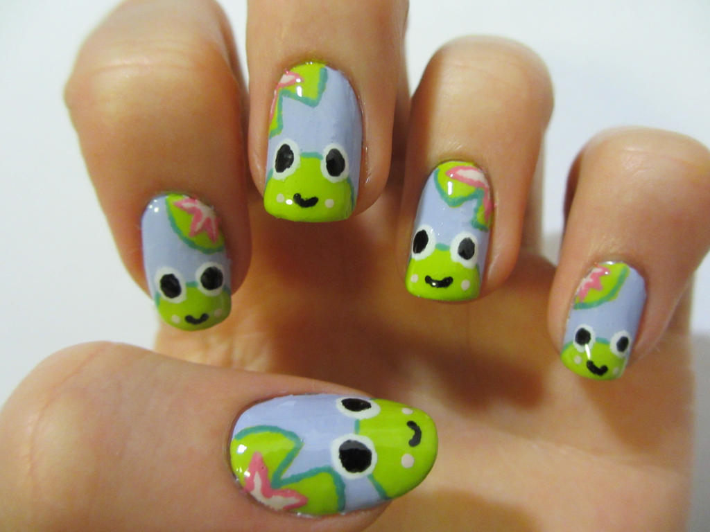Nail Art Designs Cartoon Characters Hession Hairdressing
