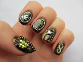 Bioshock Infinite Nails