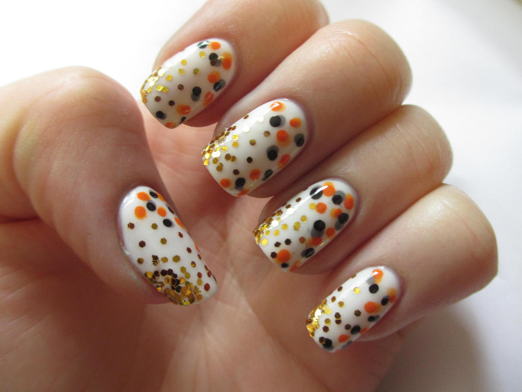 Koi Fish Inspired Nail Art by JofoKitty on DeviantArt