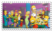 Simpsons stamp by Lucifiu