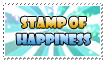 stamp of  happiness by Lucifiu