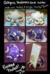 Sculpy Octopus Business Card Holder